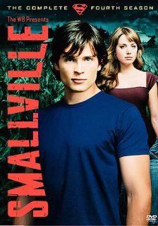 Smallville   The Complete Fourth Season DVD, 2005, 6 Disc Set