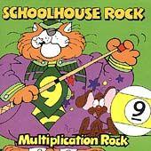 Rock Multiplication Rock by Schoolhouse Rock CD, Apr 1997, Kid