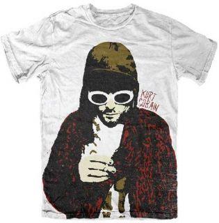 KURT COBAIN   Posterized Kurt   T SHIRT S M L XL New Official T Shirt