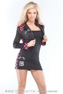Womens Race Car Driver Costume S Small M Medium L Large Racer Fancy