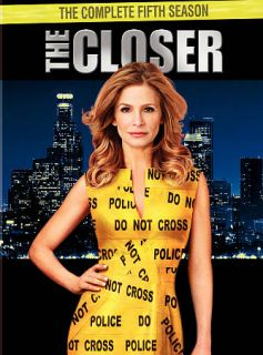 The Closer The Complete Fifth Season DVD, 2010, 4 Disc Set