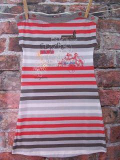 deux par deux heart beat h95 striped jersey dress location