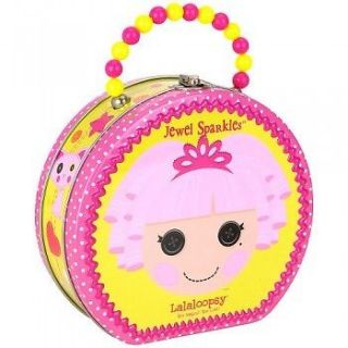LaLaLoopsy La La Loopsy Tin Lunch Box, purse clutch, Round Bag beaded