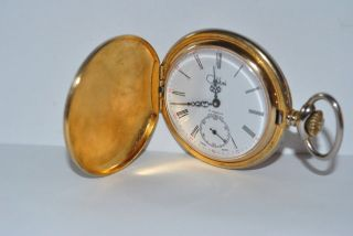 Vintage Colibri Incabloc 17 Jewel 10S Pocket Watch Time Piece Working