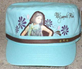 NWT Wizards of Waverly Selena Gomez Baseball Cap Hat 7 16 Blue