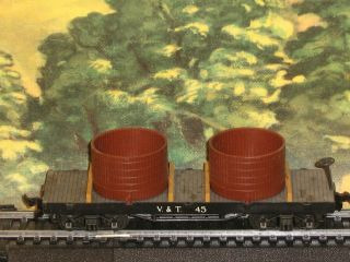 AHM Rivarossi HO Virginia & Truckee Flat Car Item #6245 VGC Condition