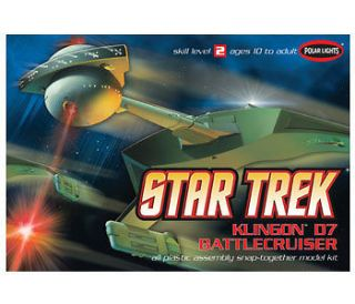 Polar Lights Star Trek Klingon D7 Battlecruiser Kit POL806M
