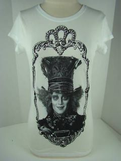 alice in wonderland mad hatter silver lining tee 1067 more