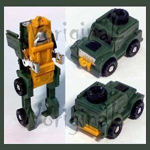 transformers g1 minibot brawn land rover defender 4x4 # a