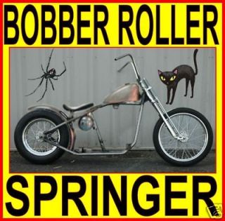 rigid bobber chopper rolling chassis frame harley kit time left