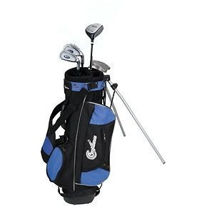 confidence golf kids junior golf clubs set ages 4 7