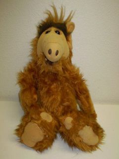 VTG 1986 Alf Alien Life Form Plush Doll Productions Coleco Industries