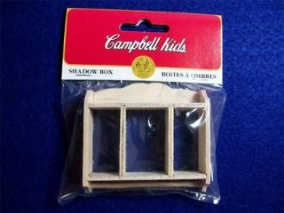 Campbell Kids Shadow Box dollhouse miniature 112 scale