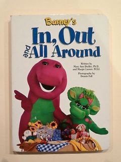, Out and All Around Baby Bop  Mary Ann Dudko & M Larsen   Board Book