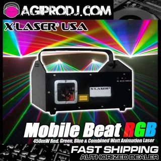 Laser Mobile Beat RGB 450mW RGB 15K Animation Laser Brand New Unit