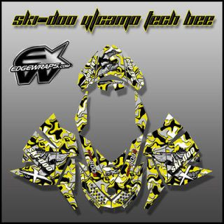 SKI DOO REV, XP, MXZ, Renegade, Summit, Freeride,  8/12 y/camo tech