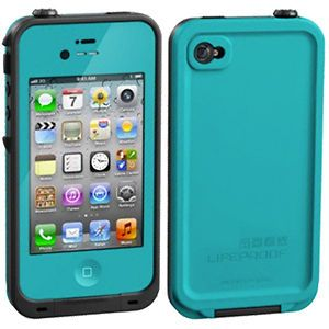 newly listed lifeproof iphone 4 case teal