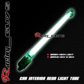 BRIGHT GREEN 16 INTERIOR NEON LIGHT KIT TUBE CIVIC/CRX/CRV SIENNA