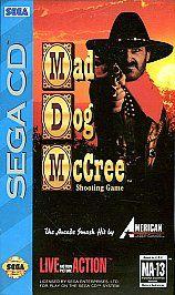 Mad Dog McCree Sega CD, 1993
