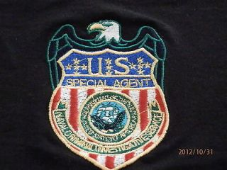 NCIS Special Agents Shield Embroidered Badge/Sew on Patch, size 10cm x