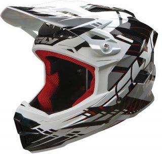 FLY Racing Default Black Helmet BMX Bike Bicycle FreeRide Downhill MTB