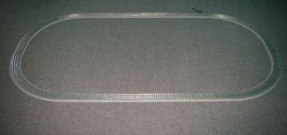 LIONEL 48x96 FASTRACK TRACK COMPLETE OVAL SET terminal 4x8 train