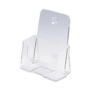 10 brochure holder bi fold 6 x 9 inch booklet