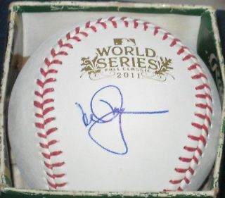 Mark McGwire St Louis Cardinals SIGNED World Series Baseball