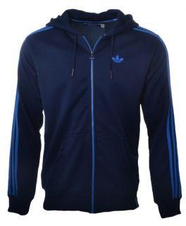Adidas Originals Mens Full Zip Hoody Hooded Jacket Tracksuit Top