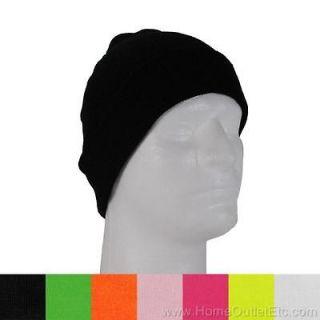 20adf0638f0 ... BEANIE Plain Solid Knit Hat Stocking Cap Tuque Skull Winter Ski Snow ...