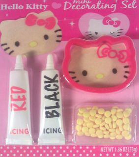hello kitty cookie cutter mini decorating set new time left