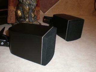 Newly listed 2 NEW BLACK Cube Satellite Surround Theater Speakers and