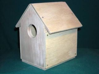 wren bird house kits nail together scout project one day shipping