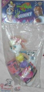 1996 McDonalds Looney Tunes Space Jam   MIP Lola Bunny Plush