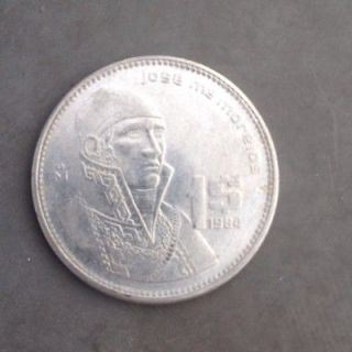 1984 mexico mexican coin ships free time left $ 2