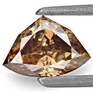 78 Carat Lovely Fancy Deep Chocolate Brown Trilliant Diamond