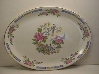 lord nelson pottery england oval platter and  one