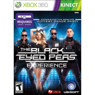 the black eyed peas experience xbox 360 2011 brand new