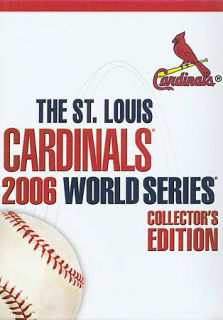 St. Louis Cardinals 2006 World Series Collectors Edition DVD, 2006, 8