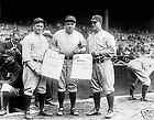 Sporting News Counter Display Babe Ruth and Lou Gehrig STANDEE