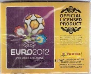 euro 2012 poland ukraine box 50 packs stickers panini from
