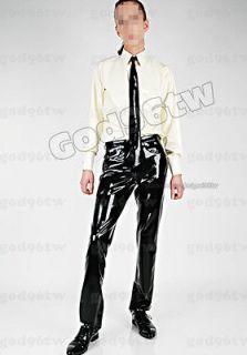 100% Latex Rubber Gummi Shirt Top Pants Jeans Trousers Tie Catsuit