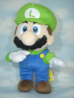 Newly listed new super mario bros luigi 12.5 soft plush toy doll