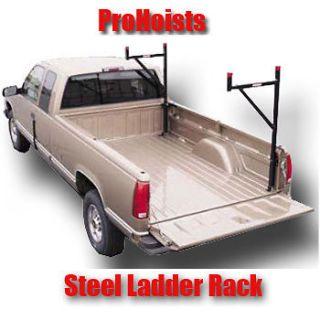 Steel Contractor Pickup Truck Ladder Lumber Rack Side Mount pick up