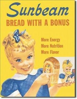 "Sunbeam   Little Miss Sunbeam Metal Sign 12.5"" x 16"" (630)"