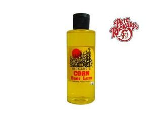 PETE RICKARDS   4oz. CORN LURE DEER LURE ATTRACTANT COVER SCENT