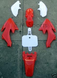 Mini Dirt Pit Bike Fairing Body Kit Honda CRF 50 Parts