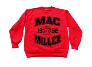 Mac Miller Sweatshirt Crewneck most dope high life wiz khalifa tees