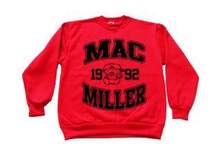 Mac Miller Sweatshirt Crewneck most dope high life wiz khalifa tees