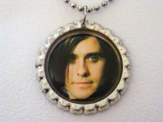30 second to mars jared leto 2 bottle cap necklace